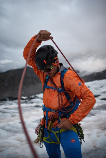 gear ijs klimmen zwitserse alpen