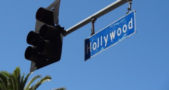 hollywood boulevard in LA