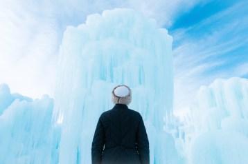 ijskasteel in canada