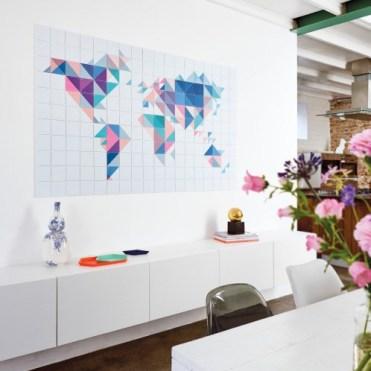 ixxi wereldkaart modern