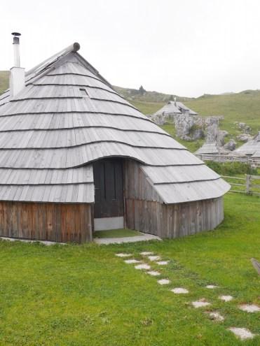 kamnik huisjes bergen slovenie