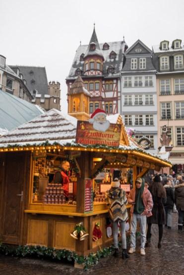 kerstmarkt frankfurt op Römerberg