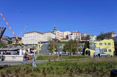 kleurrijke stad belgrado in servie