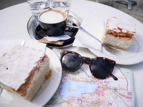 lake bled taart cream cake