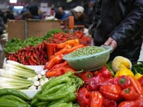markt beijing fruit groente china