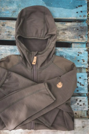 meenemen hike fleece trui fjallraven_
