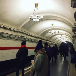 metro gang wachten sint petersburg