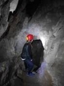 ondergrondse tunnels predjama kasteel