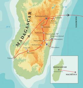 route madagascar