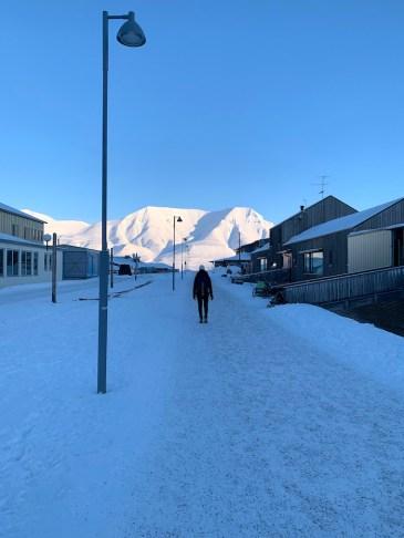 stempel ophalen spitsbergen dorpje
