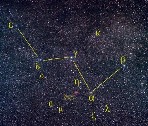 sterren aan de hemel kijken cassiopeia