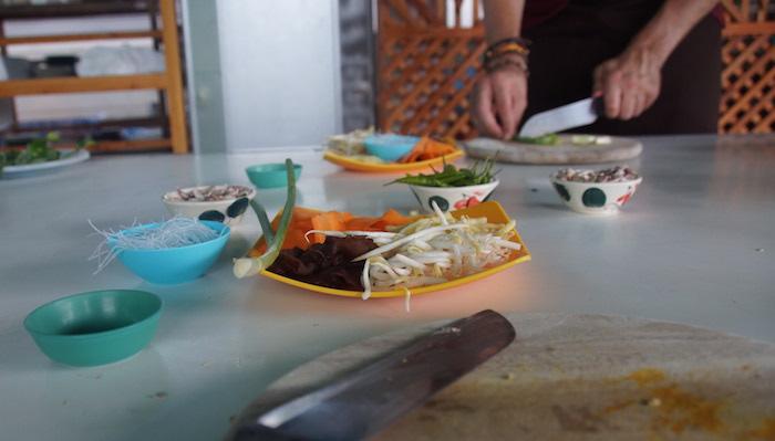 thailand snijden kookcursus thailand
