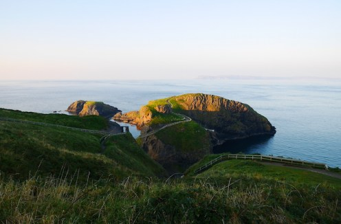 touwbrug in Noord-Ierland carrick a rede