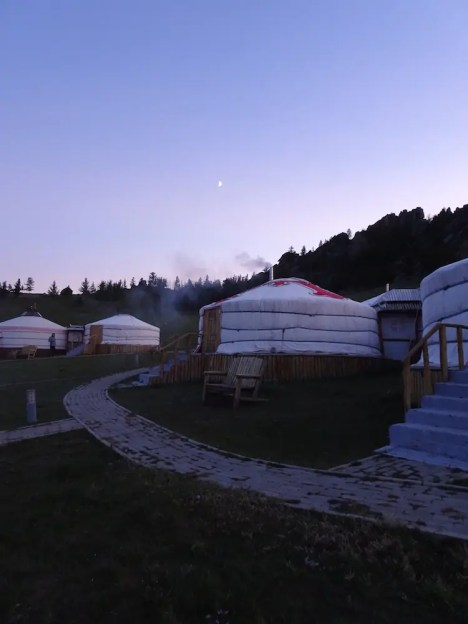 yurts mongolie backpacken noord azie