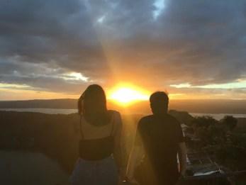 zonsondergang filipijnen
