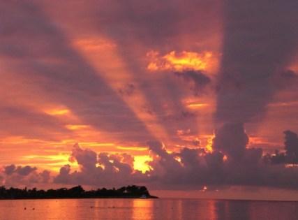 zonsondergang negril jamaica