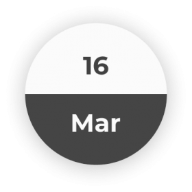 16 March