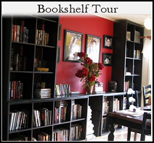 click for an updated bookshelf tour!