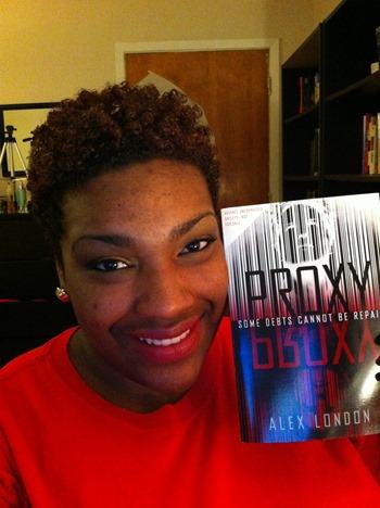 Allyn reads Proxy by Alex London