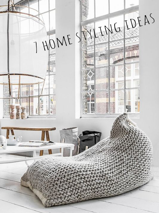 7 home styling ideas | Deco Friday