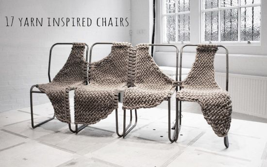 17 yarn inspired chairs | Deco Friday