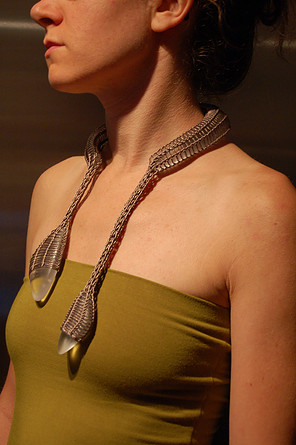 Frederique Coomans necklace squamate
