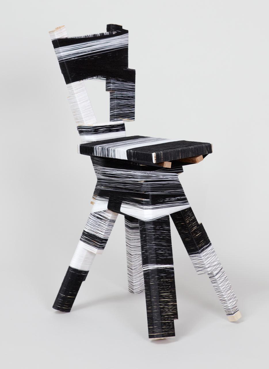 anton_alvarez thread wrapping B&W chair