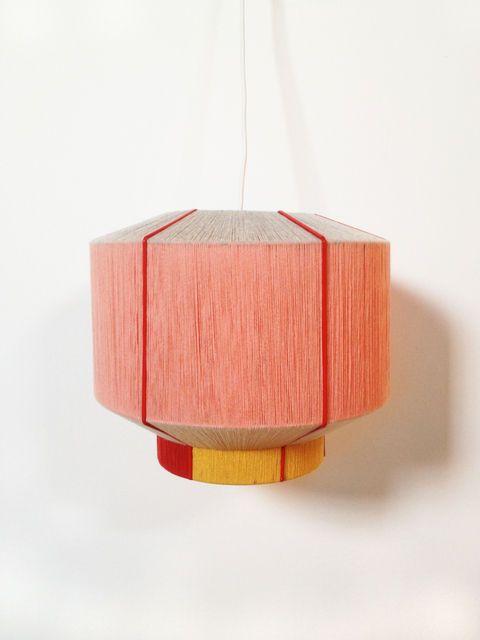 Ana Kras hanging light pink shades