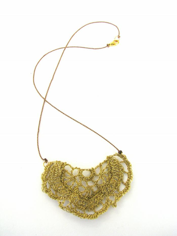 Moonbasket jewellery gold necklace