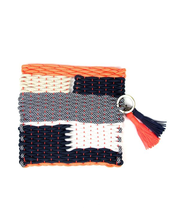 Knots & Knits rope bag colourful