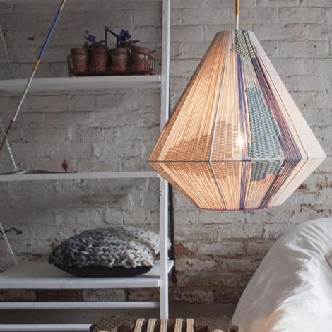 Melanie Porter lampshade gilded gem
