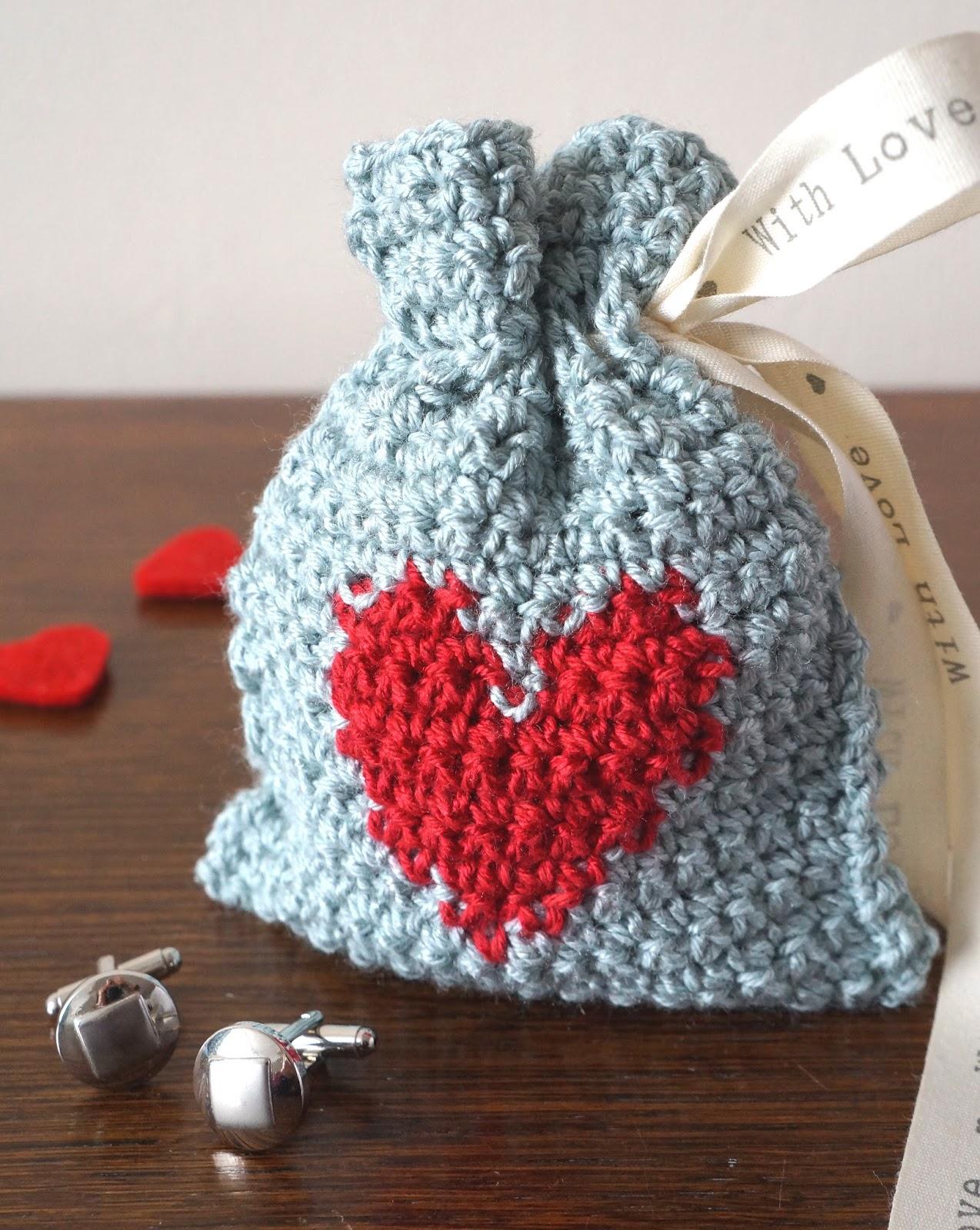 Valentine's Yarn Gift Bag
