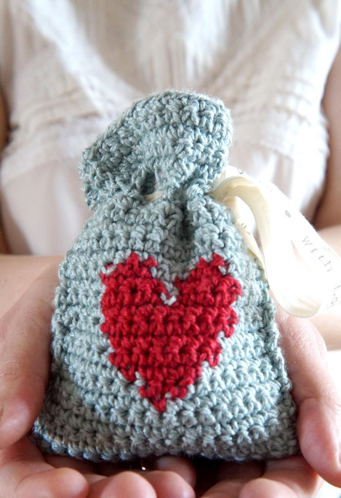 Valentine's Yarn Gift Bag 02