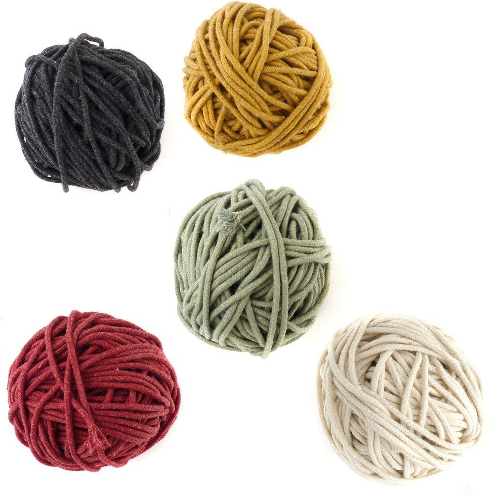 Zelma Rose yarn jewellery