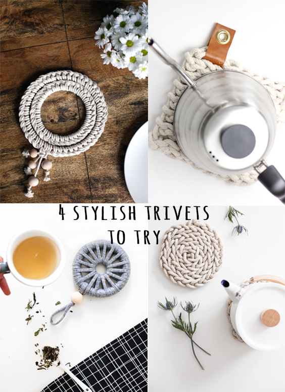 4 Stylish Trivets To Try | Deco Friday
