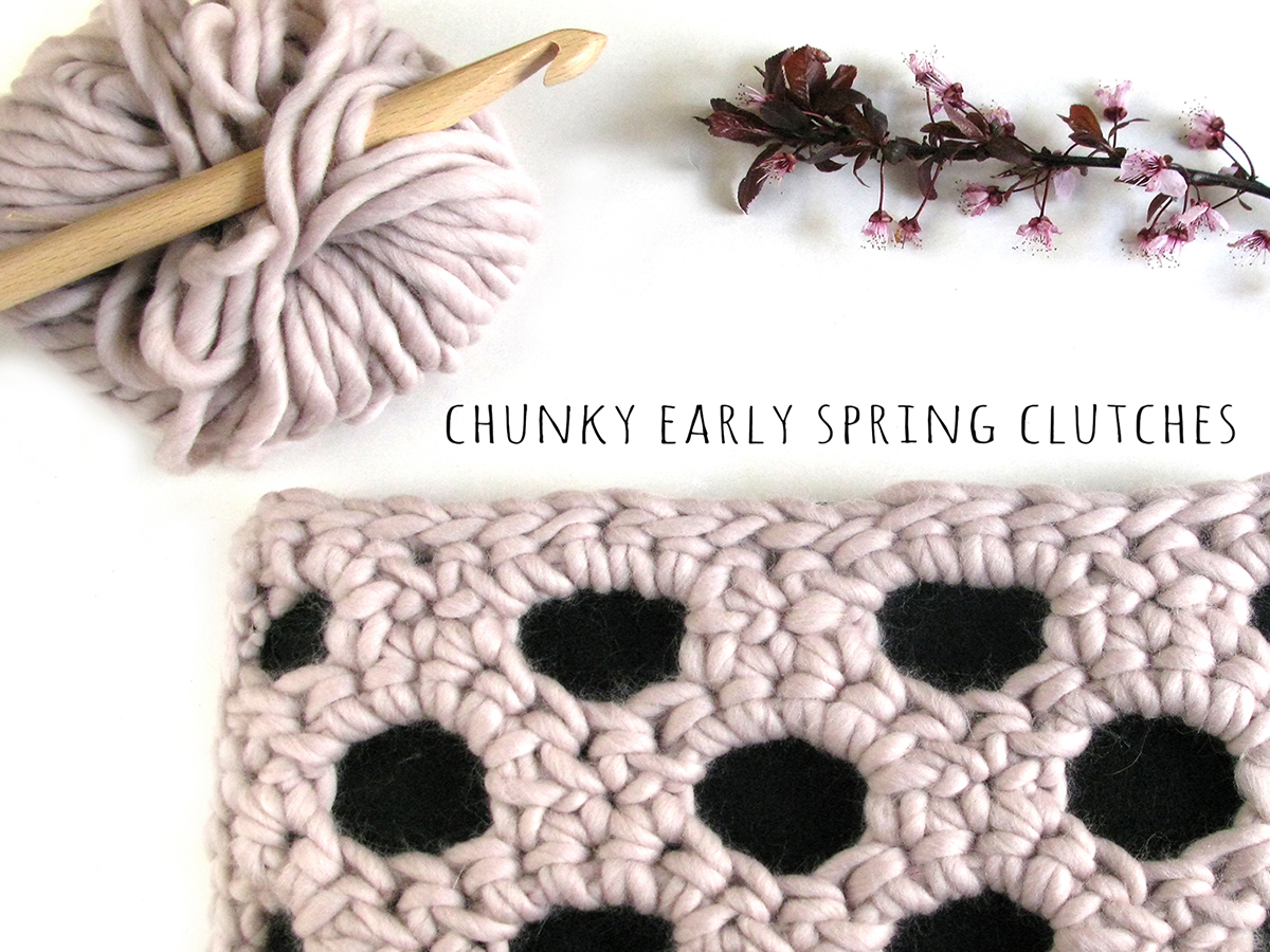 Chunky Clutches-wearitcrochet