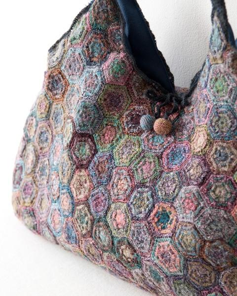 Sophie Digard colour hexagon bag
