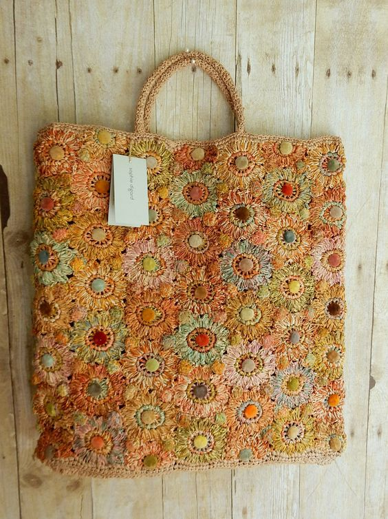 Sophie Digard orange shades bag