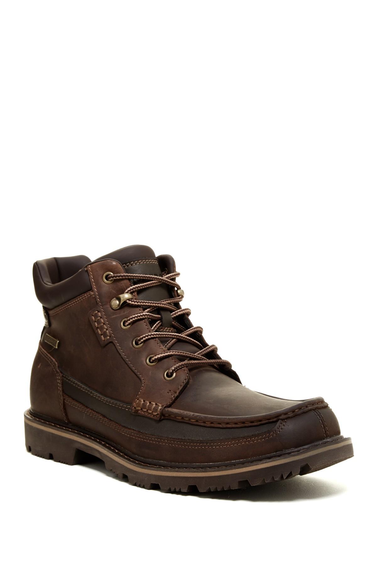 Nordstrom Rack Men S Rockport Gb Moc Mid Waterproof Boots