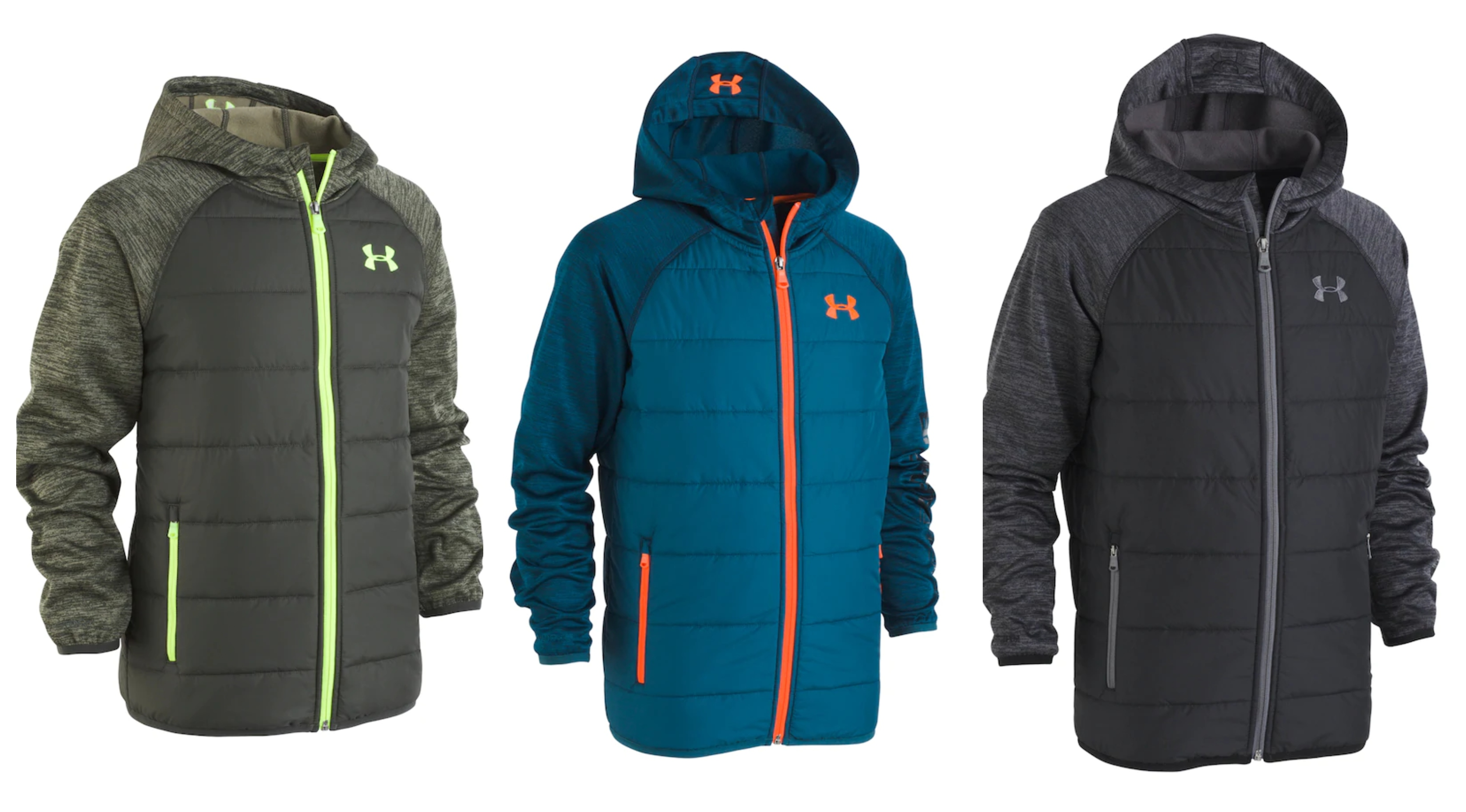 dd669cfd6a5 Kohl s  Boys  Under Armour Jackets – only  26 (reg  85) + 25% Off More  Under Armour!