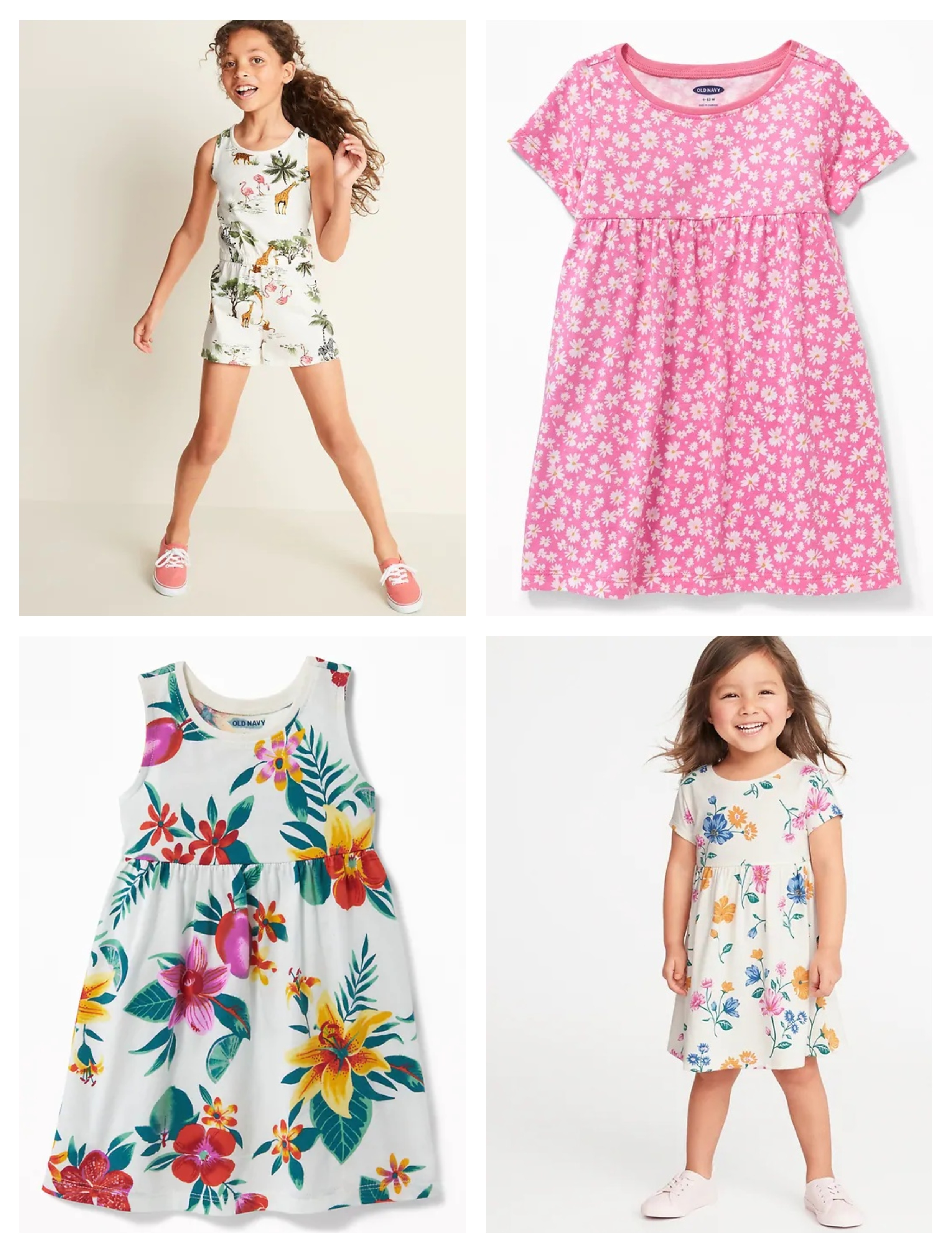 03f9c448b Old Navy: $4 Baby Dresses, $6 Toddler Dresses, $8 Girls' Rompers – TODAY  ONLY!