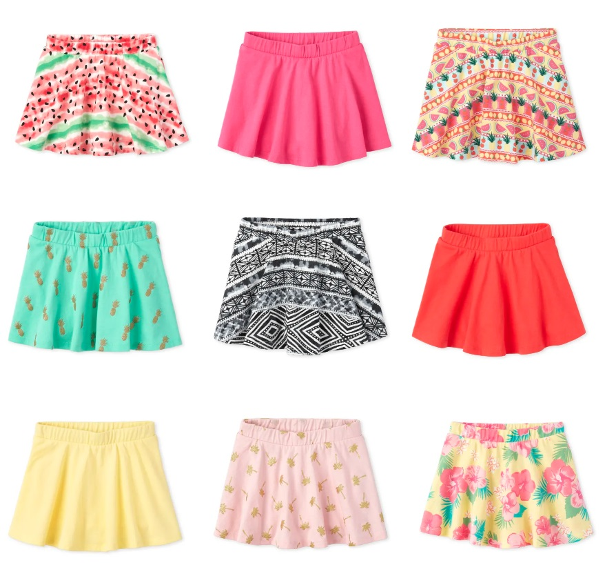 The Children's Place: Girls' Skorts – only $2-$3 Shipped! – Wear It For Less