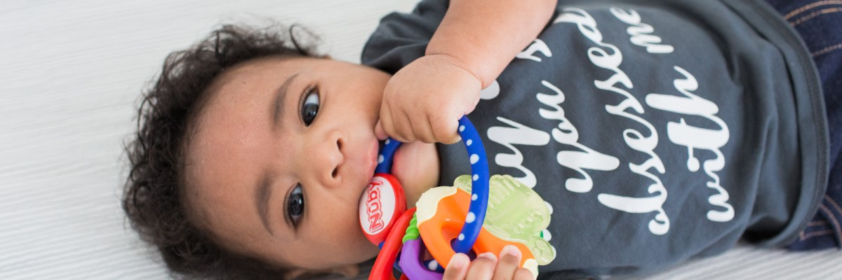 Teething with Nuby + Giveaway
