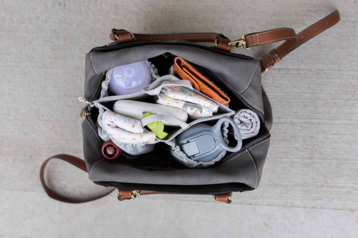 Organize your diaper bag with ToteSavvy | Baby Essentials