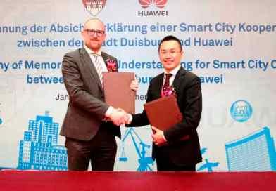 L'intelligenza Huawei pronta a trasformare Duisburg in smartcity