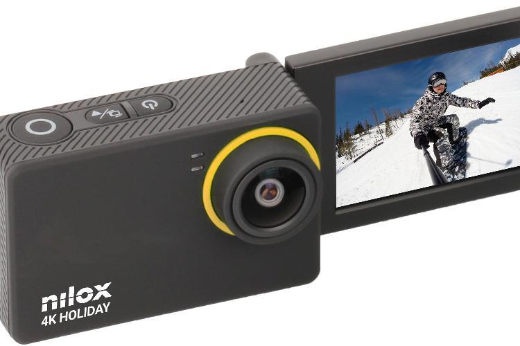 Tre nuove action-cam Nilox: 4K Naked, 4K Holiday e Mini