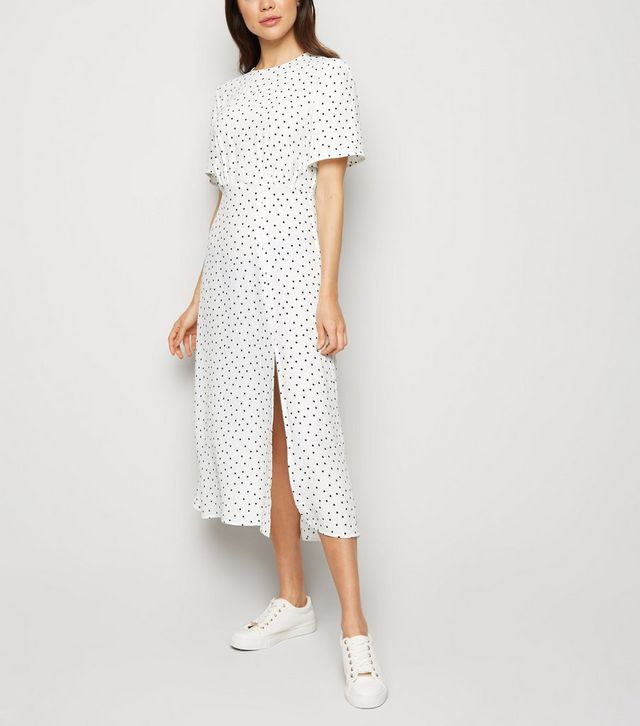 New Look Polka Dot Dress High Street Guide