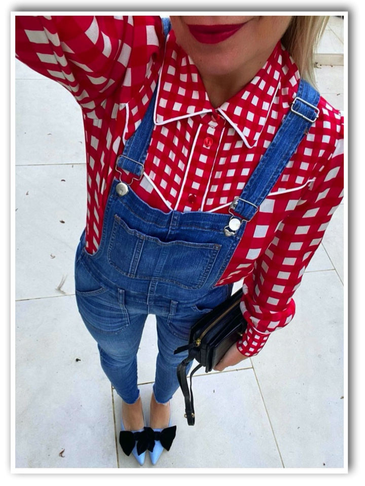 TheFashio_Lift in Madewell Dungarees