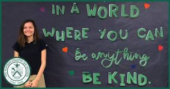 Mallory's mission to spread kindness was not the first time she left a special mark in her school.