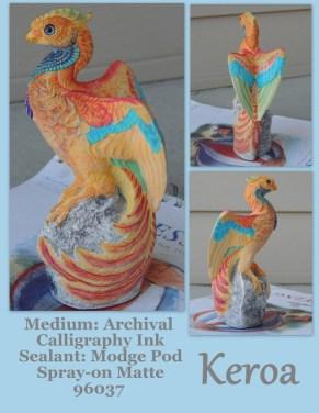 Keroa the Pheonix Sculpt Copyright Windstone Editions and M. Pena